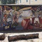 """""""La Caduta Dei Miti"""" - omaggio a David Alfaro Siqueiros, 1896-1974, messicano, pittore, muralista."""